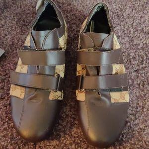 Vintage Gucci Velcro shoes
